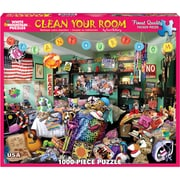 "White Mountain Puzzles Jigsaw Puzzle, Clean Your Room, 1000 Pieces, 24"" x 30"" (WM1098PZ)"