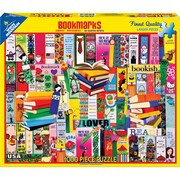 "White Mountain Puzzles Jigsaw Puzzle, Bookmarks, 1000 Pieces, 24"" x 30"" (WM1116PZ)"