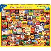 """White Mountain Puzzles Jigsaw Puzzle Soup's On, 1000 Pieces, 24"""" x 30"""" (WM1125PZ)"""