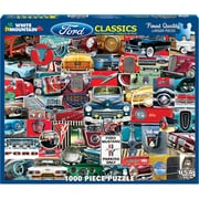"White Mountain Puzzles Jigsaw Puzzle 1000 Pieces 24""X30"", Classic Fords (WM1131PZ"