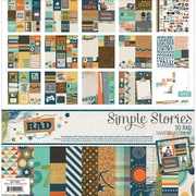 "Simple Stories Collection Kit, So Rad, 12"" x 12"" (SOR6500)"