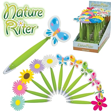 Merangue NatureRiter Ballpoint Pens, 18/Pack