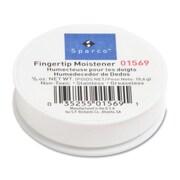 Sparco Fingertip Moistener, Odorless, Greaseless, Hygienic, 3/8 oz.
