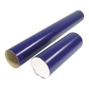 "Crownhill Mailing Tubes, Telescopic, 2-1/2"" x 37""-45"", Blue"