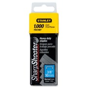 "Stanley-Bostitch Heavy-duty Staples, 3/8""W, 3/8""L, 84 Staples/Strip, 1000/Pack"