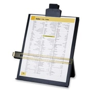 """Sparco® Easel Document Holders, Adjustable, 10-3/8"""" x 2-1/4"""" x 12-1/2"""", Black"""