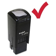 Trodat Self-Inking Stamps, Checkmark, Red/Ink