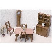 Greenleaf Dollhouses Dining Room Furniture Kit