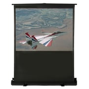 Buhl Matte White Portable Projection Screen; 98'' diagonal