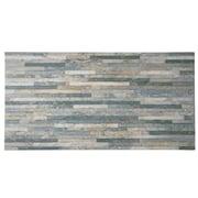 EliteTile Muro Arriba 12.5'' x 24.5'' Porcelain Field Tile in Grey