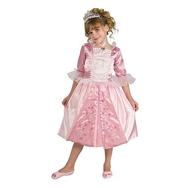 Costume de princesse bouton de rose pour enfant, petit
