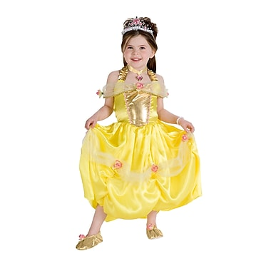 Child Golden Princess Costume