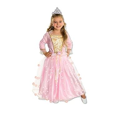 Costume de princesse pour enfant, rose, petit