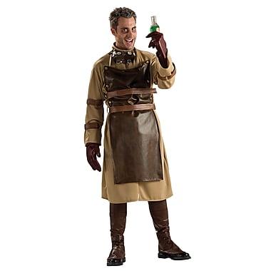 Costume de scientifique fou pour adulte, standard