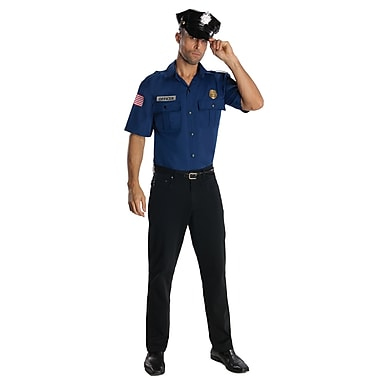Adult Police Officer-Blue Costume, X-Large