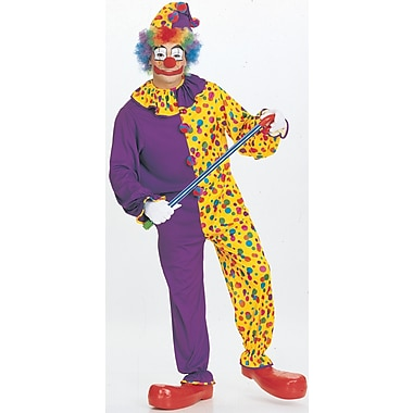 Costume de clown souriant pour adulte, standard