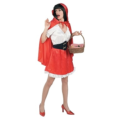 Adult Little Red Riding Hood Costume, Standard