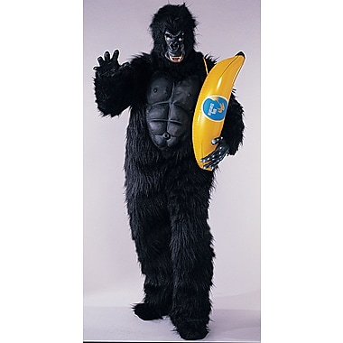 Adult Gorilla with Chest Piece Costume, Standard