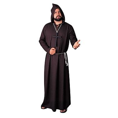 Tunique de moine bénédictin pour adulte, standard, noir