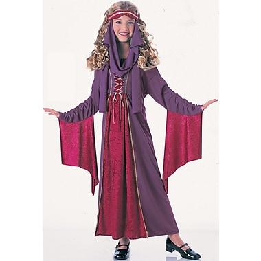 Costume de princesse gothique pour enfant, grand