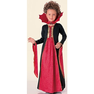 Child Gothic Vampiress Costume, Medium