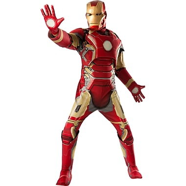 Adult Deluxe Avengers 2 Iron Man Mark 43 Costume, X-Large