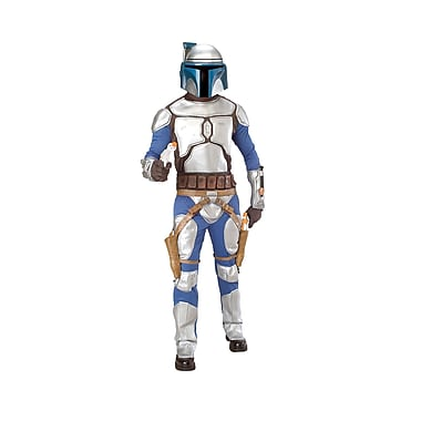 Adult Deluxe Star Wars EP II Jango Fett Costume , X-Large