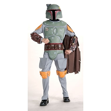 Child Deluxe Star Wars Boba Fett Classic Costume, Large