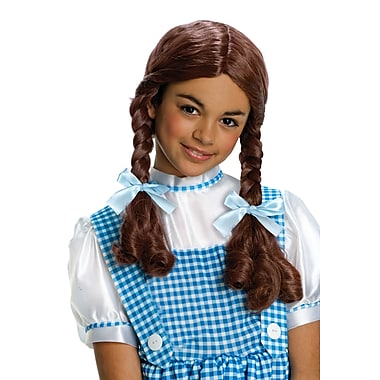 Child Wizard of Oz Dorothy Brown Wig