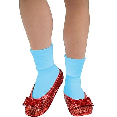 Le magicien d'Oz – Couvre-chaussures à paillettes de Dorothée pour adulte
