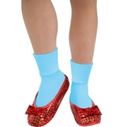 Adult Wizard of Oz Dorothy Sequin Shoe Covers