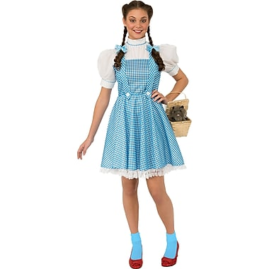 Adult Wizard of Oz Dorothy Costume, Standard
