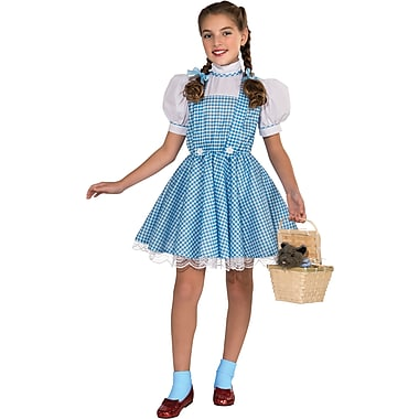 Child Deluxe Wizard of Oz Dorothy Costume, Large