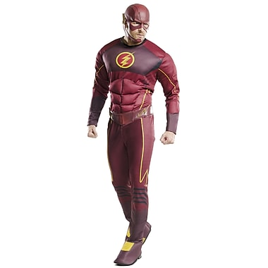 Adult Deluxe Flash Costume, X-Large