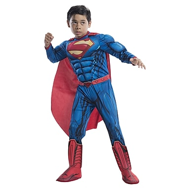 Child Deluxe DC Comics Superman Costume, Small