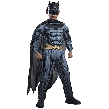 Child Deluxe DC Comics Batman Costume, Medium