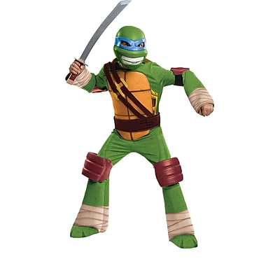 Child Deluxe Teenage Mutant Ninja Turtles Leonardo Costume, Medium