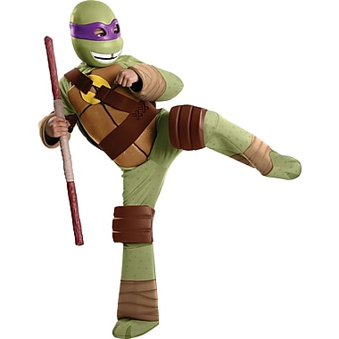 Child Deluxe Teenage Mutant Ninja Turtles Donatello Costume, Small