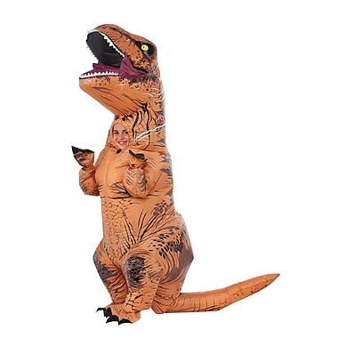 Child Jurassic World Inflatable T-Rex Costume, Standard