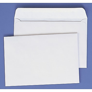 Quality Park – Enveloppes pour livrets, 28 lb, 9 po x 12 po, blanc, paq./100