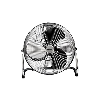 Forest Air 18'' Commercial Floor Fan, Black