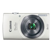Canon PowerShot ELPH 160 20 MP Compact Digital Camera, 8x Optical Zoom, 5-40 mm Focal Length, White