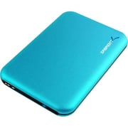 "Sabrent  Ultra Slim 2 1/2"" USB 3.0/SATA Hard Drive Enclosure, Blue (EC-RDBL)"