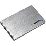 """Sabrent™ 2.5"""" SATA/300 External Drive Enclosure, Silver/Black (EC-SS25)"""