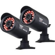 Night Owl CAM-2PK-650 Wired Indoor/Outdoor Security Bullet Camera, Black