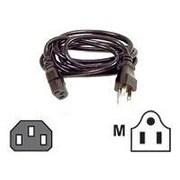 Belkin ™ Pro Series 20' IEC320C13/NEMA 5-15 Female/Male Computer AC Replacement Power Cable, Black (F3A104-20)