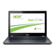 "Acer Chromebook C740-C3P1 - Intel Celeron 3205U - 11.6"" HD Display - 2 GB RAM - 16 GB SSD - NX.EF2AA.001 - Iron IMR"