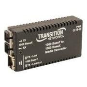 Transition Networks® SC Mini Transceiver/Media Converter (M/GE-T-SX-01-NA)