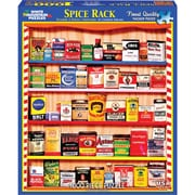 "White Mountain Puzzles Jigsaw Puzzle, Spice Rack, 1000 Pieces, 24"" x 30"" (WM1121PZ)"