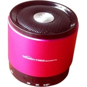 Worryfree Gadgets Zeepad Mini Bluetooth 2.1 Speaker BTSPK, Portable, Pink